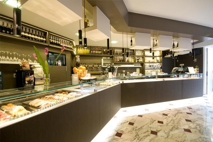 Progettazione e arredamento locali pubblici e attivit for Arredamento pizzeria moderno