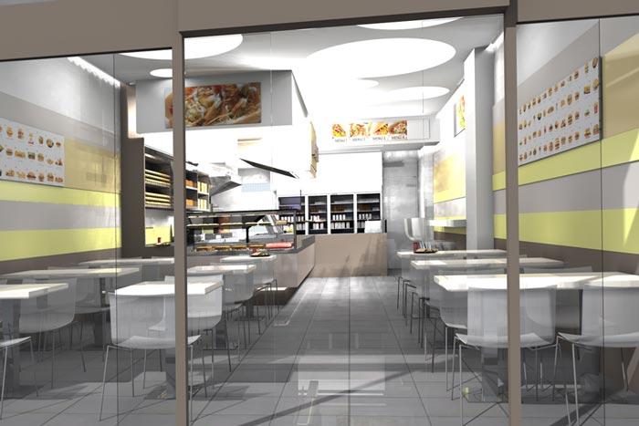 Progettazione e arredamento locali pubblici e attivit for Ikea arredo bar