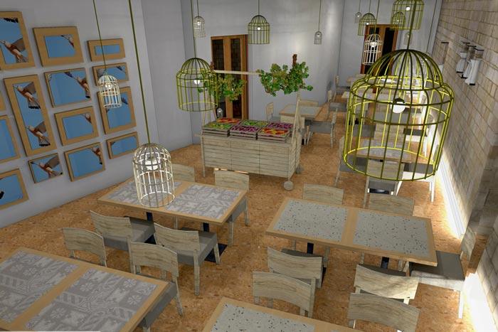 Progettazione e arredamento locali pubblici e attivit for Arredamento per ristorante usato
